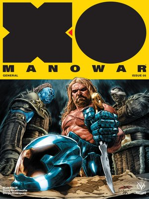 cover image of X-O Manowar (2017), Issue 5