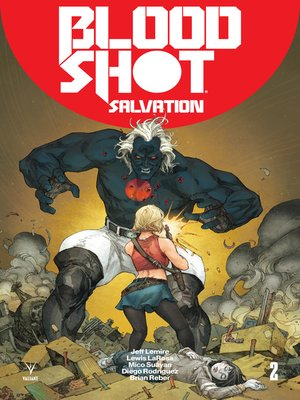 cover image of Bloodshot: Salvation (2017), Issue 2
