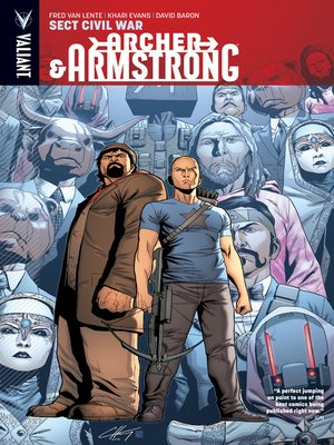 cover image of Archer & Armstrong (2012), Volume 4