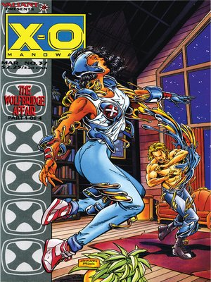 cover image of X-O Manowar (1992), Issue 37