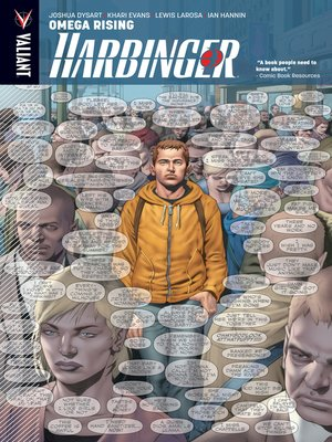 cover image of Harbinger (2012), Volume 1