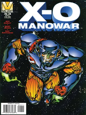 cover image of X-O Manowar (1992), Issue 53
