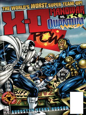 cover image of X-O Manowar (1996), Issue 16