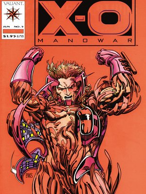 cover image of X-O Manowar (1992), Issue 5
