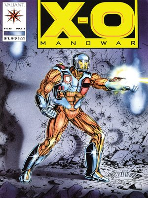 cover image of X-O Manowar (1992), Issue 1