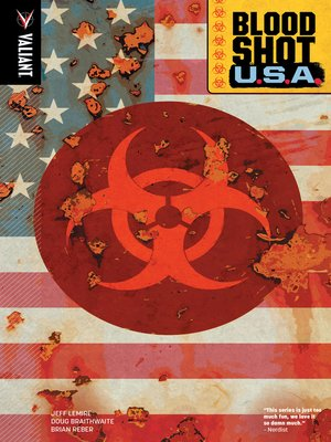 cover image of Bloodshot U.S.A.