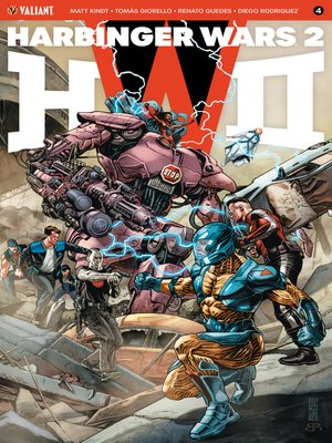 cover image of Harbinger Wars 2 (2018), Issue 4
