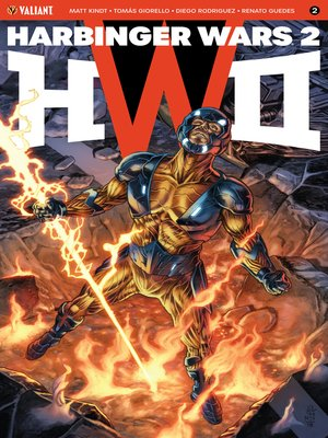 cover image of Harbinger Wars 2 (2018), Issue 2