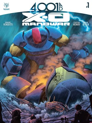 cover image of 4001 A.D.: X-O Manowar, Issue 1