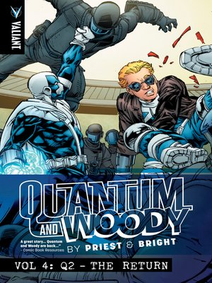 cover image of Quantum and Woody (1997), Volume 4