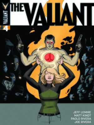 cover image of The Valiant (2014), Issue 4