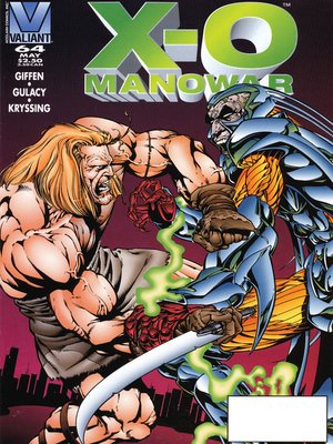cover image of X-O Manowar (1992), Issue 64