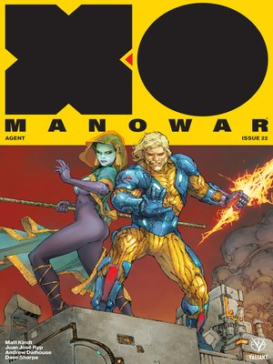 cover image of X-O Manowar (2017), Issue 22