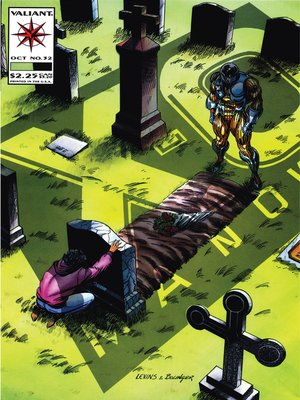 cover image of X-O Manowar (1992), Issue 32