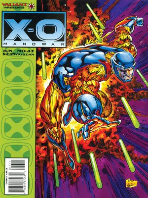 cover image of X-O Manowar (1992), Issue 43
