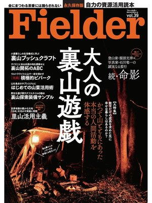 cover image of Fielder Volume39: 本編