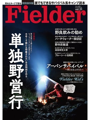 cover image of Fielder Volume33: 本編