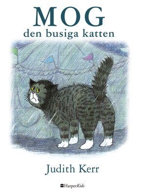 cover image of Mog – den busiga katten