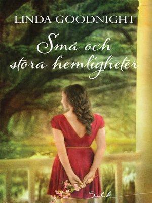 cover image of Små och stora hemligheter