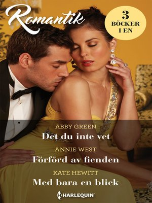 cover image of Det du inte vet / Förförd av fienden / Med bara en blick