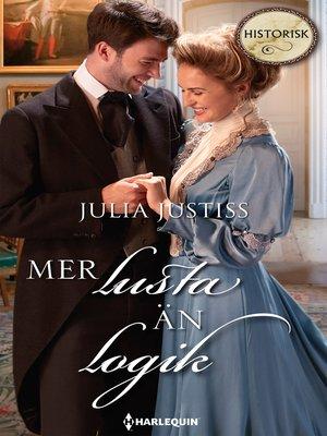 cover image of Mer lusta än logik