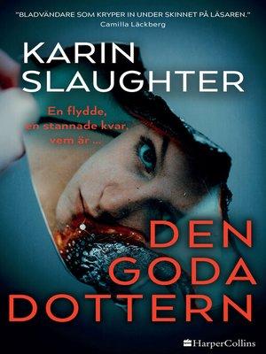 cover image of Den goda dottern