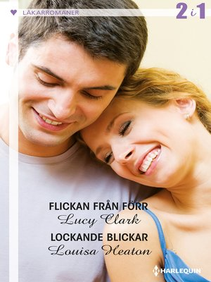 cover image of Flickan från förr / Lockande blickar