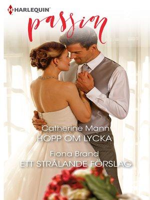 cover image of Hopp om lycka / Ett strålande förslag