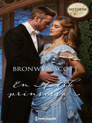 cover image of En falsk prinsessa