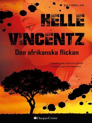 cover image of Den afrikanska flickan