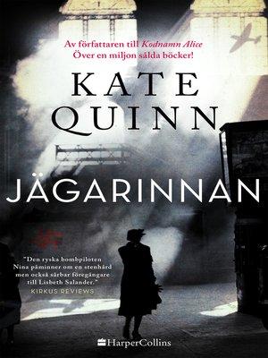 cover image of Jägarinnan