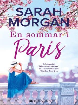 cover image of En sommar i Paris