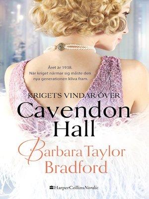 cover image of Krigets vindar över Cavendon Hall
