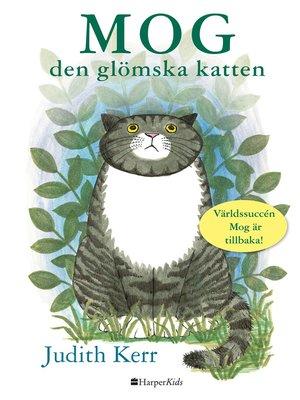 cover image of Mog den glömska katten