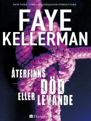 cover image of Återfinns död eller levande