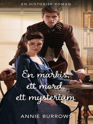 cover image of En markis, ett mord, ett mysterium