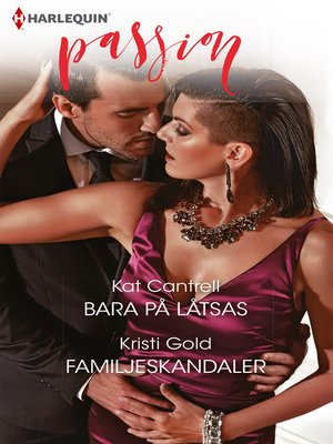 cover image of Bara på låtsas / Familjeskandaler