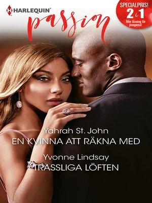 cover image of En kvinna att räkna med / Trassliga löften
