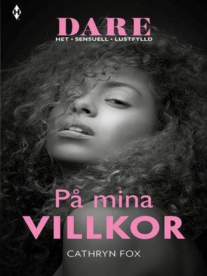 cover image of På mina villkor