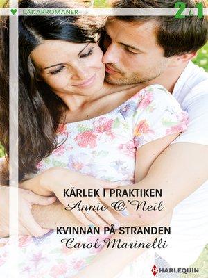 cover image of Kärlek i praktiken / Kvinnan på stranden