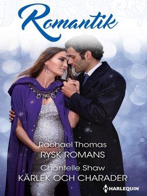 cover image of Rysk romans / Kärlek och charader