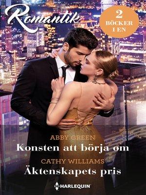 cover image of Konsten att börja om / Äktenskapets pris