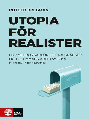 cover image of Utopia för realister