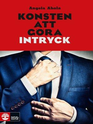 cover image of Konsten att göra intryck