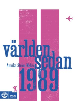 cover image of Världen sedan 1989