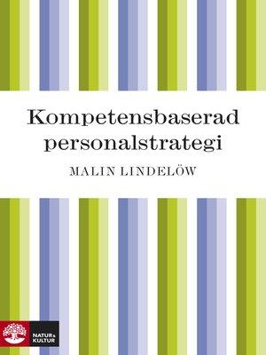 cover image of Kompetensbaserad personalstrategi