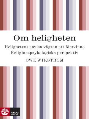 cover image of Om heligheten