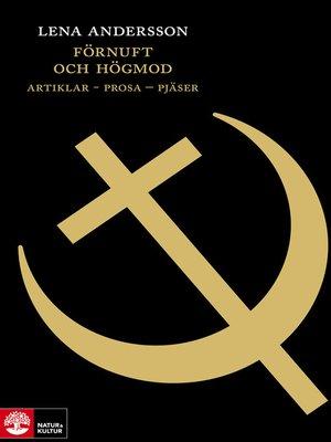 cover image of Förnuft och högmod