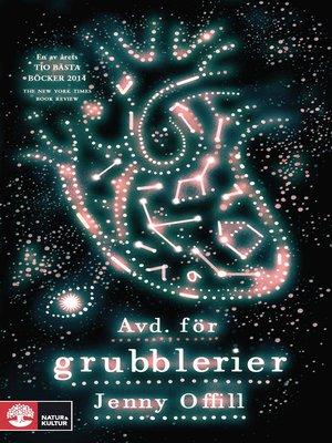cover image of Avd. för grubblerier
