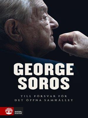 cover image of Till försvar för det öppna samhället